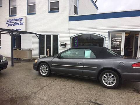 2004 Chrysler Sebring for sale at Lightning Auto Sales in Springfield IL