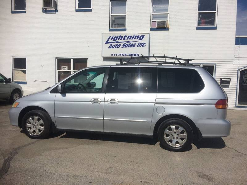 2003 Honda Odyssey For Sale At Lightning Auto Sales In Springfield IL