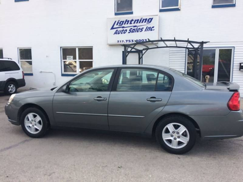 2005 Chevrolet Malibu For Sale At Lightning Auto Sales In Springfield IL