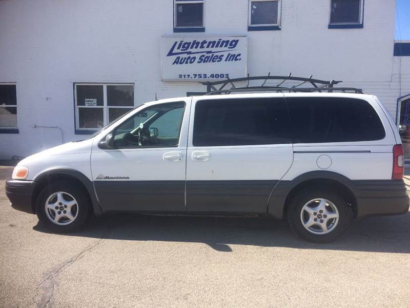 2001 Pontiac Montana for sale in Springfield, IL