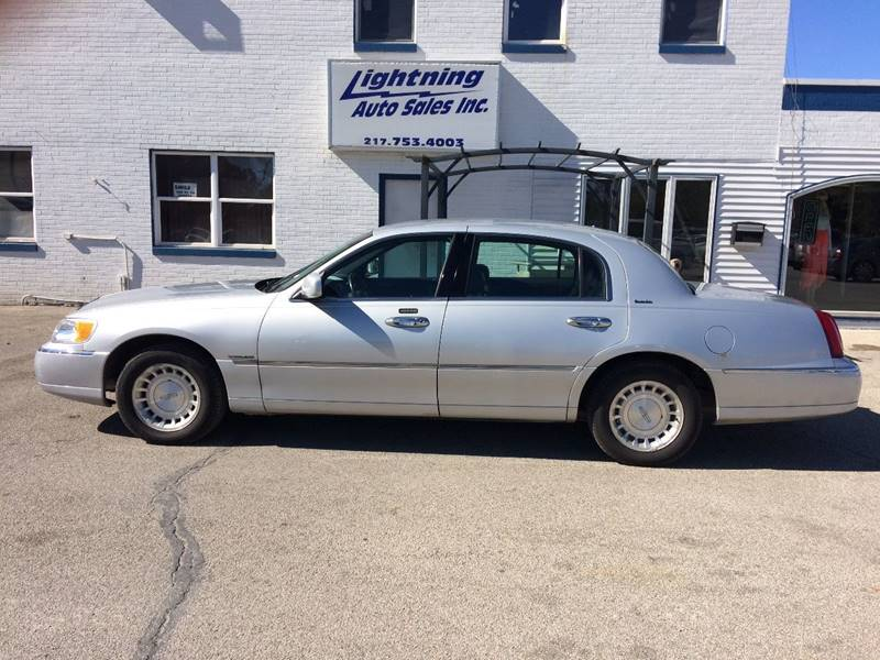 2000 Lincoln Town Car Executive In Springfield Il Lightning Auto