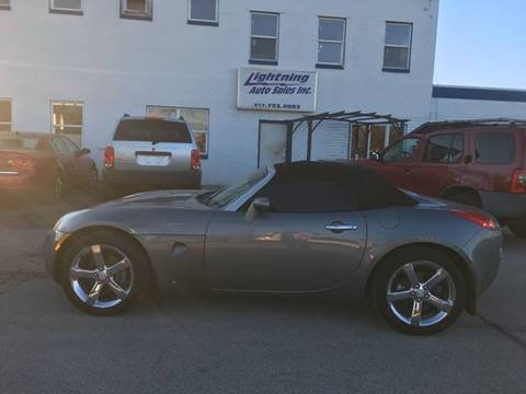 2006 Pontiac Solstice for sale in Springfield, IL