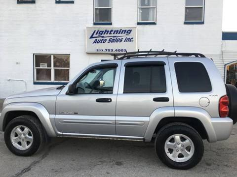 2002 Jeep Liberty for sale in Springfield, IL