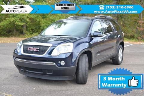 2007 GMC Acadia for sale in Manassas, VA