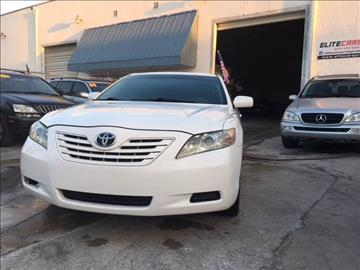 2007 Toyota Camry for sale at Elite Cars Pro in Oakland Park FL