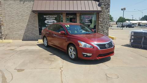 2013 Nissan Altima for sale at NORTHWEST MOTORS in Enid OK