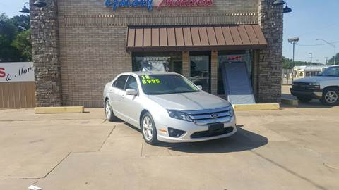 2012 Ford Fusion for sale at NORTHWEST MOTORS in Enid OK
