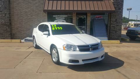 2013 Dodge Avenger for sale at NORTHWEST MOTORS in Enid OK