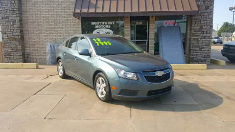 2012 Chevrolet Cruze for sale at NORTHWEST MOTORS in Enid OK