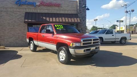 1997 Dodge Ram Pickup 1500 for sale at NORTHWEST MOTORS in Enid OK