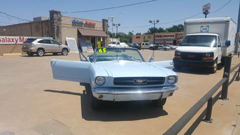 1965 Ford Mustang for sale at NORTHWEST MOTORS in Enid OK