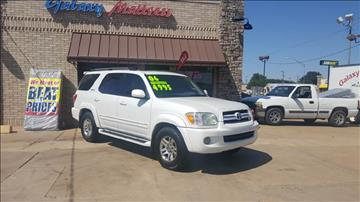 2006 Toyota Sequoia for sale at NORTHWEST MOTORS in Enid OK