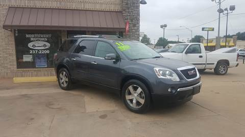2011 GMC Acadia for sale at NORTHWEST MOTORS in Enid OK