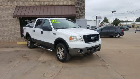 2008 Ford F-150 for sale at NORTHWEST MOTORS in Enid OK
