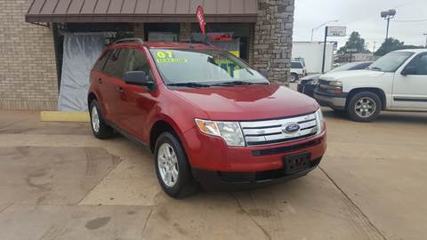 2007 Ford Edge for sale at NORTHWEST MOTORS in Enid OK