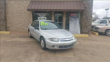 2003 Chevrolet Cavalier for sale at NORTHWEST MOTORS in Enid OK