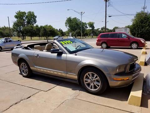 2005 Ford Mustang for sale at NORTHWEST MOTORS in Enid OK