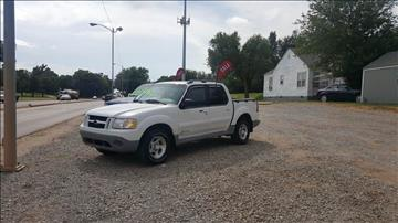 2002 Ford Explorer Sport Trac for sale at NORTHWEST MOTORS in Enid OK