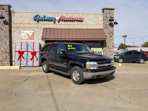 2002 Chevrolet Tahoe for sale at NORTHWEST MOTORS in Enid OK