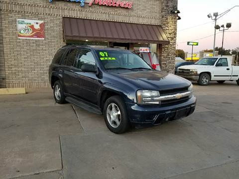 2007 Chevrolet TrailBlazer for sale at NORTHWEST MOTORS in Enid OK