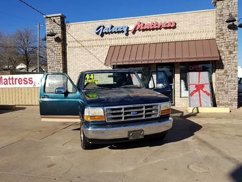 1994 Ford F-150 for sale at NORTHWEST MOTORS in Enid OK