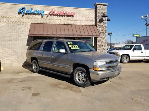 2001 Chevrolet Suburban for sale at NORTHWEST MOTORS in Enid OK