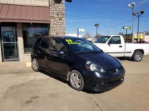 2008 Honda Fit for sale at NORTHWEST MOTORS in Enid OK