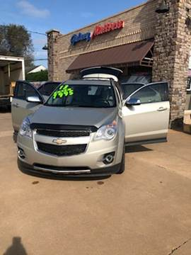 2013 Chevrolet Equinox for sale at NORTHWEST MOTORS in Enid OK