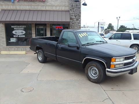 1998 GMC Sierra 1500 for sale at NORTHWEST MOTORS in Enid OK