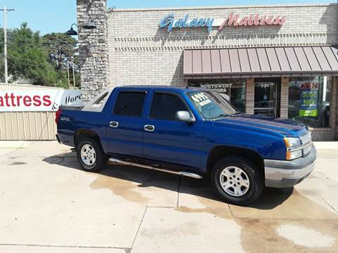 2004 Chevrolet Avalanche for sale at NORTHWEST MOTORS in Enid OK
