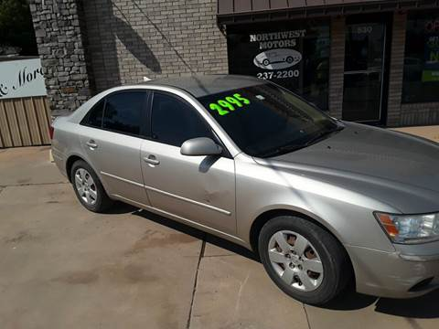 2009 Hyundai Sonata for sale at NORTHWEST MOTORS in Enid OK