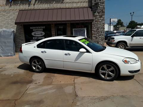 2008 Chevrolet Impala for sale at NORTHWEST MOTORS in Enid OK
