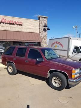 1999 Chevrolet Tahoe for sale at NORTHWEST MOTORS in Enid OK