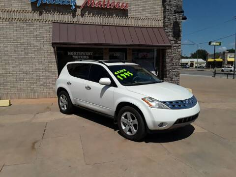2003 Nissan Murano for sale at NORTHWEST MOTORS in Enid OK