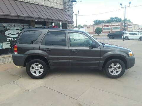 2007 Ford Escape for sale at NORTHWEST MOTORS in Enid OK