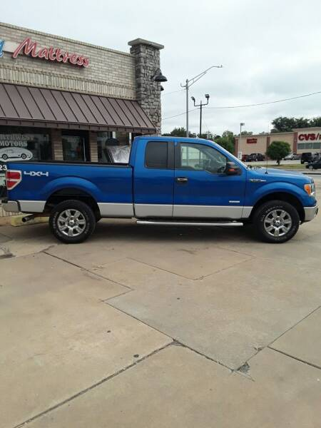 2012 Ford F-150 for sale at NORTHWEST MOTORS in Enid OK