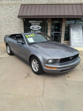 2007 Ford Mustang for sale at NORTHWEST MOTORS in Enid OK