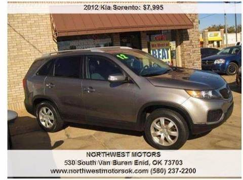 2012 Kia Sorento for sale at NORTHWEST MOTORS in Enid OK