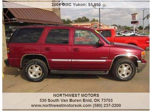 2004 GMC Yukon for sale at NORTHWEST MOTORS in Enid OK