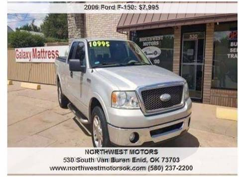 2006 Ford F-150 for sale at NORTHWEST MOTORS in Enid OK
