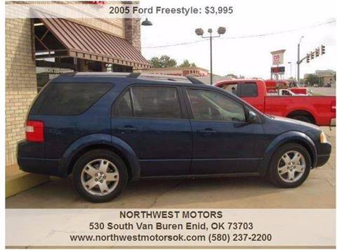 2005 Ford Freestyle for sale at NORTHWEST MOTORS in Enid OK
