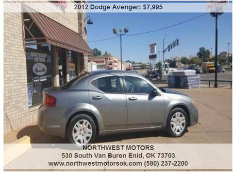 2012 Dodge Avenger for sale at NORTHWEST MOTORS in Enid OK