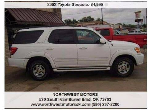 2002 Toyota Sequoia for sale at NORTHWEST MOTORS in Enid OK