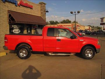 2005 Ford F-150 for sale at NORTHWEST MOTORS in Enid OK