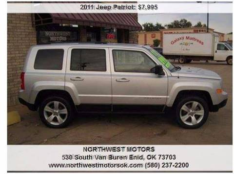 2011 Jeep Patriot for sale at NORTHWEST MOTORS in Enid OK
