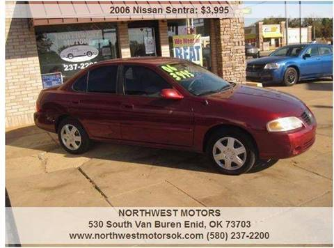 2006 Nissan Sentra for sale at NORTHWEST MOTORS in Enid OK