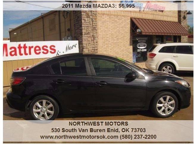 2011 Mazda MAZDA3 for sale at NORTHWEST MOTORS in Enid OK