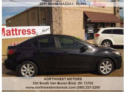 2011 Mazda MAZDA3 for sale at NORTHWEST MOTORS in Enid OK