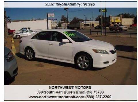 2007 Toyota Camry for sale at NORTHWEST MOTORS in Enid OK