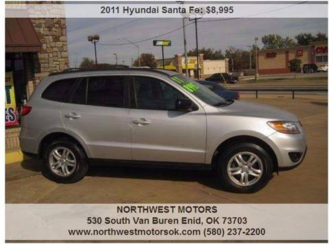 2011 Hyundai Santa Fe for sale at NORTHWEST MOTORS in Enid OK